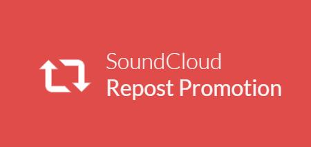 Souncloud repost promotion